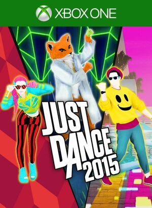 Cover for Just Dance 2015.