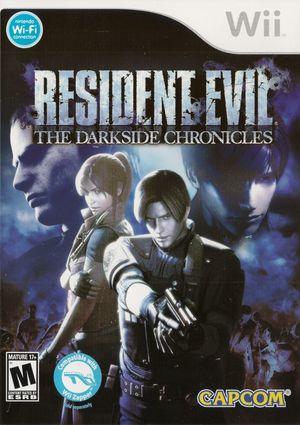 Cover for Resident Evil: The Darkside Chronicles.