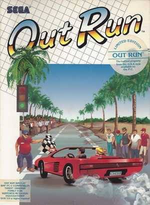 Cover for OutRun.