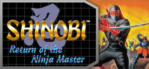 Cover for Shinobi III: Return of the Ninja Master.