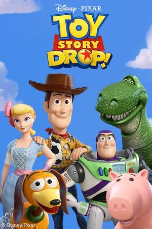 Cover for Toy Story Drop!.