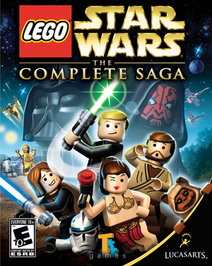 Cover for Lego Star Wars: The Complete Saga.