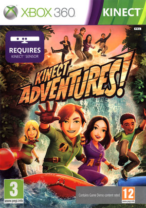 Cover for Kinect Adventures!.