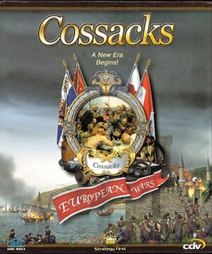 Cover for Cossacks: European Wars.