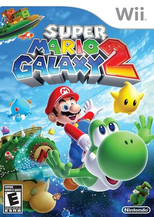 Cover for Super Mario Galaxy 2.