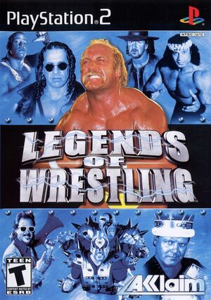 Cover for Legends of Wrestling.