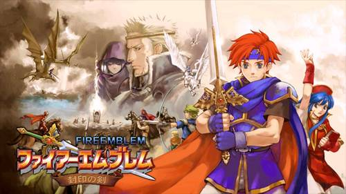 Cover for Fire Emblem: The Binding Blade.