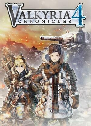 Cover for Valkyria Chronicles 4.