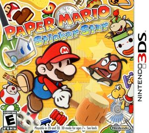 Cover for Paper Mario: Sticker Star.
