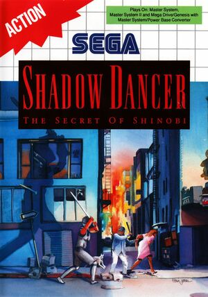 Cover for Shadow Dancer.