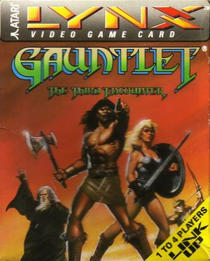 Cover for Gauntlet: The Third Encounter.