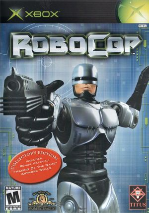 Cover for RoboCop.
