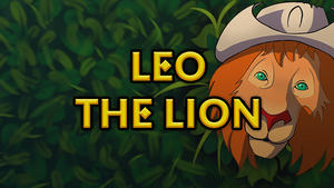 Cover for Leo the Lion.
