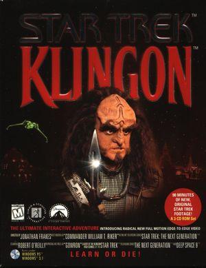Cover for Star Trek: Klingon.