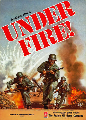 Cover for Under Fire!.