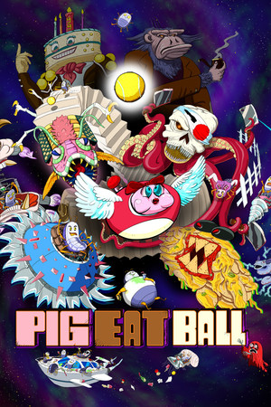 Cover for Pig Eat Ball.