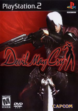 Cover for Devil May Cry.