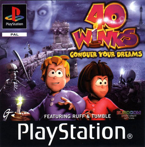 Cover for 40 Winks.