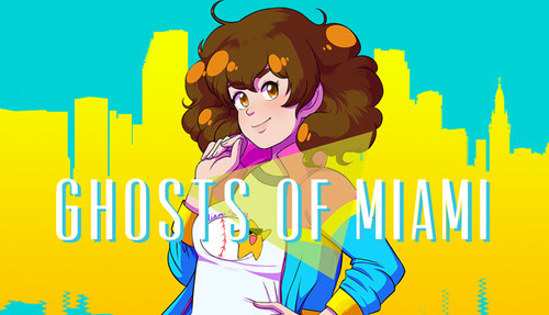 Cover for Ghosts of Miami.