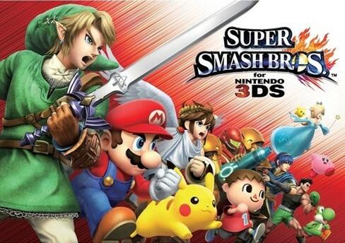Cover for Super Smash Bros. for Nintendo 3DS.