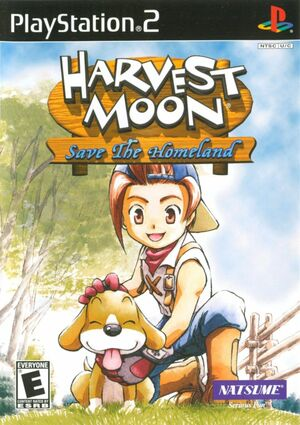 Cover for Harvest Moon: Save the Homeland.