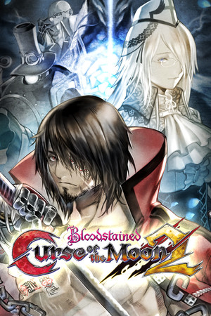 Cover for Bloodstained: Curse of the Moon 2.