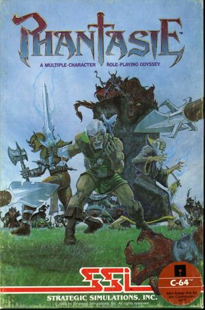 Cover for Phantasie.