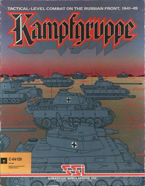 Cover for Kampfgruppe.