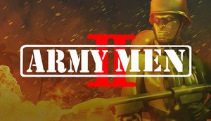 Cover for Army Men II.