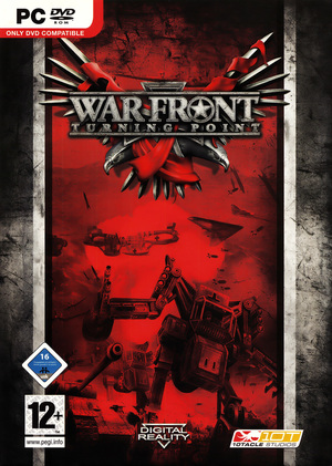 Cover for War Front: Turning Point.