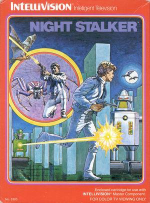 Cover for Night Stalker.