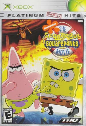 Cover for The SpongeBob SquarePants Movie.