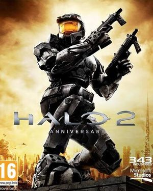 Cover for Halo 2 Anniversary.