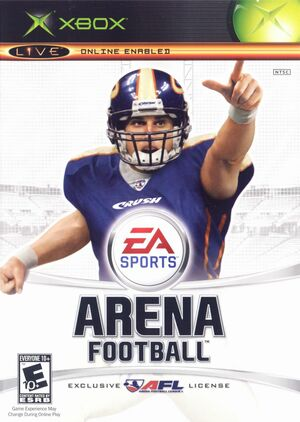 Cover for Arena Football.