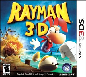 Cover for Rayman 3D.