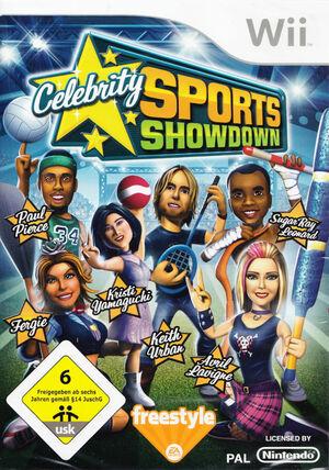 Cover for Celebrity Sports Showdown.