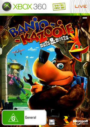 Cover for Banjo-Kazooie: Nuts & Bolts.
