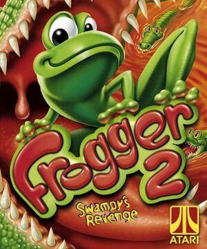 Cover for Frogger 2: Swampy's Revenge.