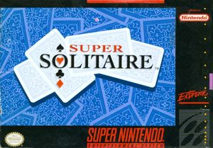 Cover for Super Solitaire.