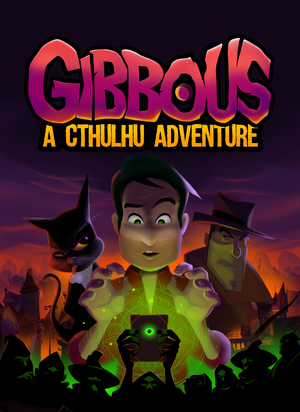 Cover for Gibbous - A Cthulhu Adventure.
