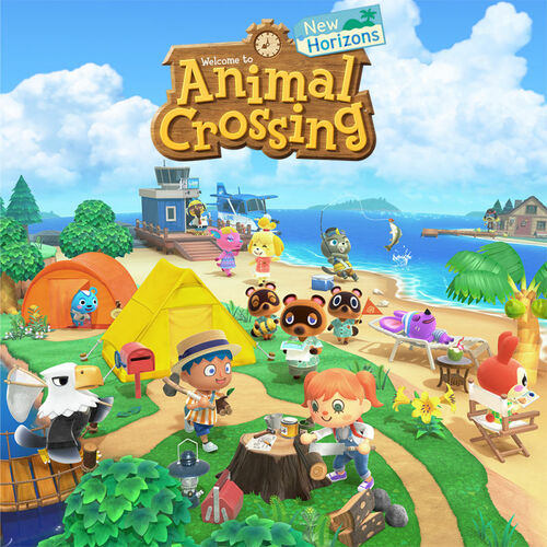 Cover for Animal Crossing: New Horizons.