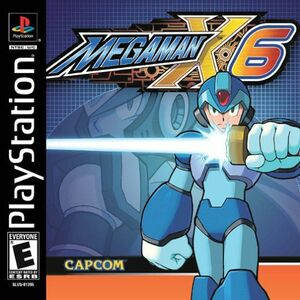 Cover for Mega Man X6.