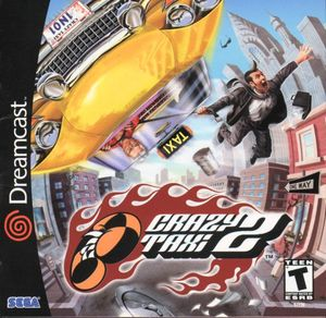 Cover for Crazy Taxi 2.