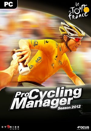 Cover for Pro Cycling Manager 2012.