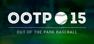 Cover for Out of the Park Baseball 15.