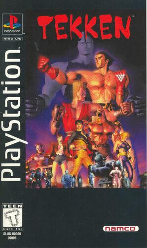 Cover for Tekken.