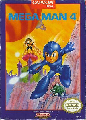 Cover for Mega Man 4.