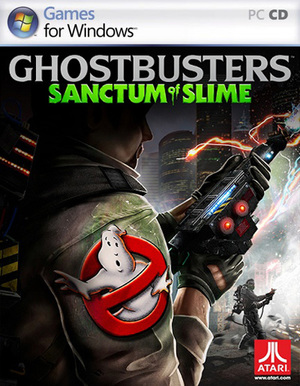 Cover for Ghostbusters: Sanctum of Slime.