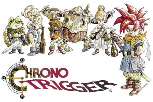 Cover for Chrono Trigger.
