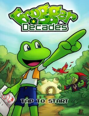 Cover for Frogger Decades.